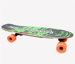 [EU instock] HT-S1 Smart Skateboard 4 Wheels Electric Longboard Scooters 300W 2 Double Motor 24v 4.4ah With 2.4G Digital Remote Control