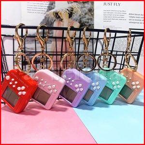 Mini Console Game Machine Party Favor Children's Handheld Nostalgic With Keychain Tetris Video Games Kids Children Gifts