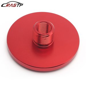 RASTP-USA STOCK High Quality Aluminum DIA - Threaded Oil Filter Adapter1 2-28 to 3 4-16 x 2.5 Auto Car Accessories RS-OFI054-Red