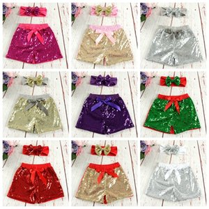 Europe And America Children's Wear Summer Next To The Skin Bow Shorts Children Pure Cotton Sequins Boxer Brief Multicolor 25 9df T2