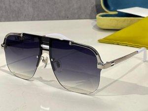 Sunglasses For Men and Women Summer style Anti-Ultraviolet 0933S Retro Plate Half frame fashion Eyeglasses Random Box