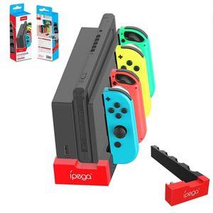 IPEGA PG-9186 Caricabatterie per controller di gioco Caricatore Dock Dock Supporto per la console di controllo dell'indicatore con controllori di indicatori Joysticks