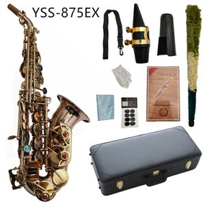 YSS-875EX Saxophone Soprano B Flat Phosphor Bronze Material With Case Mouthpiece Reeds Neck Musical Instrument Accessories