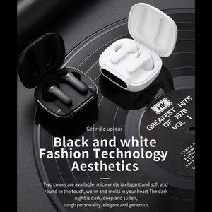 L52 Tws Draadloze Bluetooth Earphones Stereo Noise Cancelling Koptelefoon Led Oordopjes Met Opladen Case Touch Sport Hoofdtelefoon 1 Pair