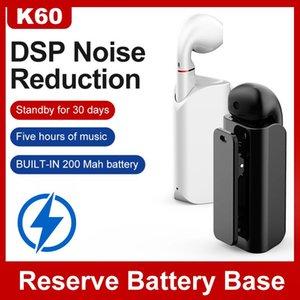 Headphones & Earphones K60 Wireless Fone Bluetooth Earphone For Phone Android Mini Business Earphoith Microphone Hands Free Headset