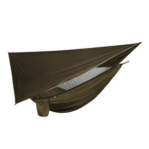 Tents And Shelters 1 Set Outdoor Hammock Tent With Waterproof Canopy Awning Sunshade