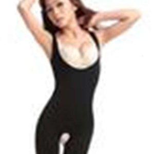 Natürlicher Bambus-Holzkohle Body Shaper Unterwäsche schlanke Abnehmen Anzug Bodysuits
