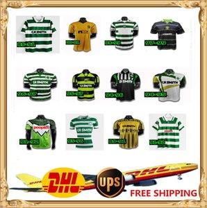 DHL UPS БЕСПЛАТНО 1984 1986 1996 06 08 CELTIC Ретро Джерси 1991 1993 1998 1999 футбольные футболки классические винтажные Sutton 1995 1997 Celtic Retro