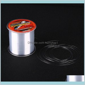 500M Nylon Fishing Line Super Strong 100% Nylon Non-Fluorocarbon Fishing Tackle Super Strength Not Easy To Break E4Wzx Rvnmh