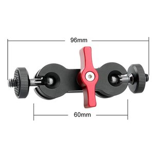Double Ball Head Magic Arm Mount Clamp Bracket Adapter Support For SLR Cameras LHB99 Stabilizers