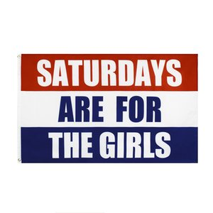 Saturdays Are For The Boys Flag Banner Decoration Polyester Flags College Fraternities Party 3x5 FT TE0002