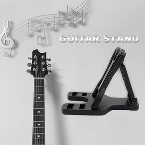 Foldable Display Holder Guitar Stand Neck Bracket Foldable Bass Screws Instrument Accessories