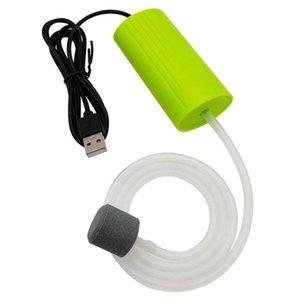 Air Pumps & Accessories Aquarium Fish Tank USB Oxygen Pump Mute Energy Saving Supplies Portable Mini Aquatic Terrarium