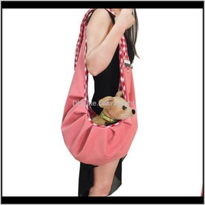 Supplies Home & Garden Drop Delivery 2021 Quality Soft Woolen Sling Pet Dog Cat Puppy Carrier Bag Single-Shoulder Slings Car Seat Ers R2Wld