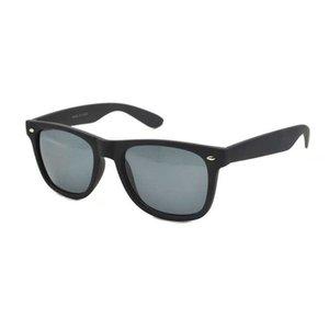 classic unisex eyeglass promotional cheap rivet square black polarized sunglass sun glass