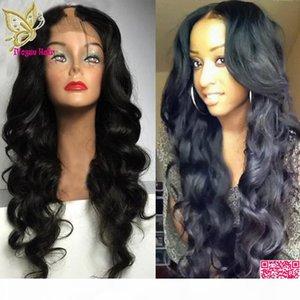 شعر الإنسان U جزء الباروكات فضفاضة موجة عذراء الهندي غير المجهزة ريمي الإنسان شعر الإنسان مسار لمة متموجة الجزء الأوسط للنساء السود