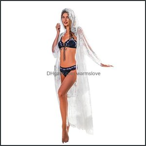 Er-Ups Swimming Equipment Sports & Outdoorser-Ups Sagace Dresses Women Casual Solid Summer Dress Lace Loose Overall Bikini Beach Swimwear Er