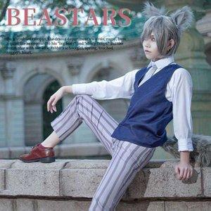 Anime Beastars Legosi Cosplay Costume Adluts Men Uniform Cool Suit Grey Wolf Costume Outfit1