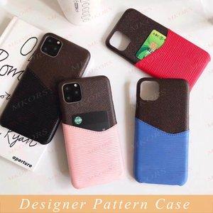 L Design Wave Phone Cases für iPhone 12 Mini PRO 11 11PRO X XS MAX XR 8 7 6S PLUS Kartensteckkofferabdeckung für Samsung S21 S20 S20 S10 S8 Anmerkung 20 10 9