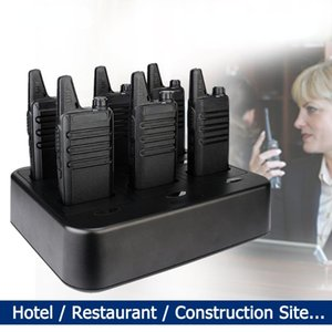 Walkie Talkie Mini 6 Pcs PMR Walkie-talkies Two-way Radio FRS Two Way Portable El Restaurant