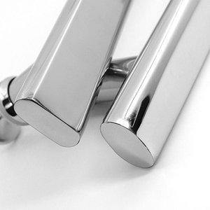 Handles & Pulls Multi-purpose Door 220mm Window Knobs Silver Stainless Steel For Glass Bathroom Furniture Drawer Hardware Handle