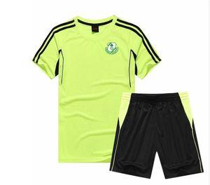 2021 Shamrock Rovers Duting Conjuntos Diseño Personalizado en seco rápido Equipo deportivo Desgaste de los deportes Uniformes de fútbol Jersey Jersey Set Camisa de pantalón