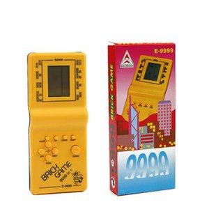 Nostalgic host plastica tetris tenuto a mano giocatore giocatore di gioco LCD giocattoli elettronici console tascabile console classica infanzia classica per regalo gioco portatile