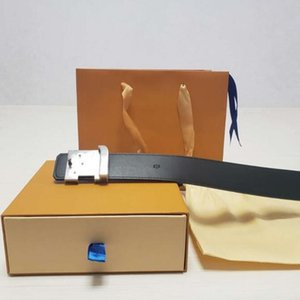 luxury belts designer belts for men big buckle belt male Genuine Leather belts top fashion mens leather belt with orange box wholesale Dropshipping