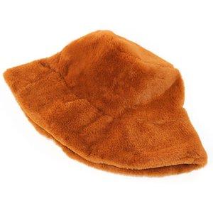 2020 şapka kadın Kore versiyonu vahşi balıkçı kap eğlence moda peluş pot, soğuk sıcak emek fabrika özel toptan