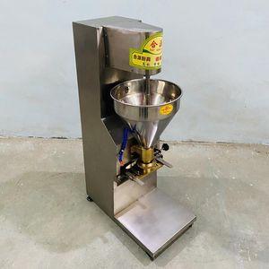 Ticari Otomatik Köfte Şekillendirme Makinesi Dikey Paslanmaz Çelik Elektrikli Et Top Makinesi 220 V 110 V İşlemciler Yiyecek