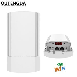 11AC 5GHz Outdoor Router CPE Elevator Wireless Bridge 1-2KM Range 900Mbps AP Access Point WIFI Support WDS PoE