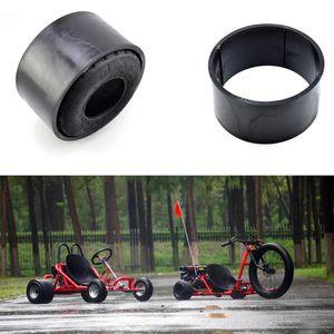 Мотоциклетные колеса шины газа для питания KART 10 * 4,5-5 дюймов пластиковых колес замена колесных колес PVC Tire Rim Scooter Write Trike Street
