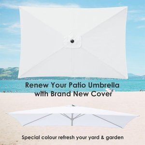 Shade Replacement Canopy 1PC Sunproof Anti-UV Graden Pool Outdoor Awnings Household Supplies Gazebo Tent Umbrella Cloth