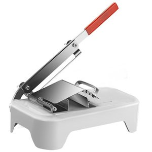 Food Processors Manual Freeze Meat Slicer, Stainless Steel Cutter Beef Mutton Roll Slicer Slicing Machine For Home