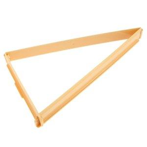 Croissant Hornear Stamper Maker Cortadores de plástico Línea de pan Molde Molde Gadgets Rollo de Postre Pastelería Herramientas