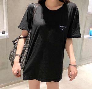 Mujeres t shirts letras impresas con gato patrón de tees para lady slim style mangas cortas t shirts