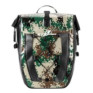 Cycling Bags Bicycle Backpack Bag Full Waterproof Shelf 27L Unilateral Frame