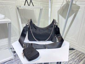 2005 كرر الطبعة 9 ألوان حقائب الكتف جودة عالية النايلون حقائب الأكثر مبيع محفظة المرأة عبر الجسم المتشرد المحافظ حقيبة رسول مع مربع