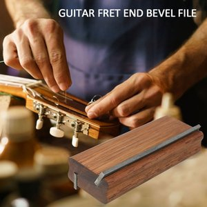 Muspor Guitar Fret Crowning End Bevel-Flush Files Tool (35-Deg and 90-Deg) Luthier File Tools