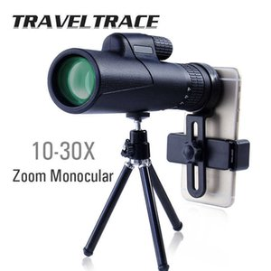 10-30X Monocular Telescope for Smartphone Zoom 40X60 Military Hunting Optical Travel Scope Powerful Professional Bak4 High Clear