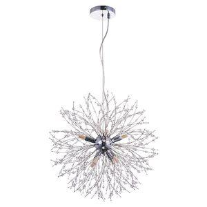 Modern filial lâmpada artesanal cadeia pingente candelabro luz energética economia de energia para sala de estar quarto de arte do quarto