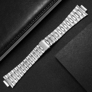 316 Stainless Steel Waterproof Watch Strap Accessories With Silver Original Clasp