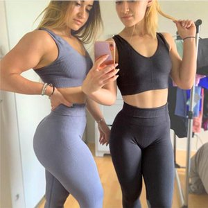 Supports de SPORTS SUPPORTS Dames Gyms Hark Shark Soutien-gorge Pantalon Fitness Taille haute Fast Dry Running Loisirs Poche-air Jogging