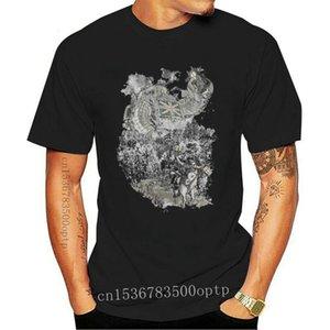 Men's T-Shirts Twenty If By Giant Robot T Shirt Union Jack Great Britain Horses Forest Lanterns Revolution Merica