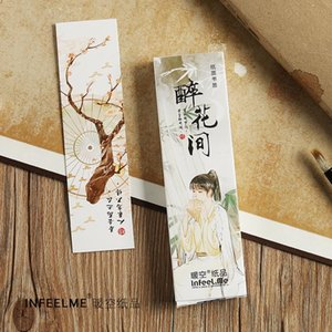 Bookmark 30pcs lot Ancient People Series Paper Card Memo School Office Supplies