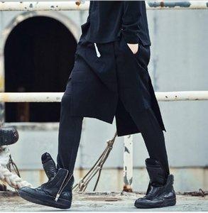 27-44 2021 мужская одежда Gd волос стилист мода свободных брюк из искусственных брюк из двух частей.