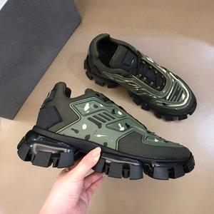 Designe Mens Cloudbust Thunder Sapatos Casuais Casual Sneakers Designer de Luxo Sneaker Sneaker Luz Borracha Sola 3D Treinadores Mulheres Top Quality Top Quality Grande tamanho US9 com caixa