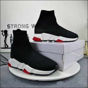 رجل امرأة عارضة الأحذية جورب 1 2.0 المشي الأحذية سرعة المدرب الأصلي باريس سيدة أسود أبيض أحمر الدانتيل الجوارب الرياضية أحذية رياضية أعلى جودة الأحذية واضحة وحيد حجم 35-45