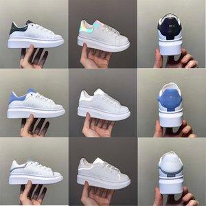 2021 Çocuk Klasikleri 3 M Yansıtıcı Sneaker Çocuk Eğitmen Açık Koşu Ayakkabı Erkek Kız Rahat Paten Ayakkabı Çocuklar Moda Spor Ayakkabı Size24-35