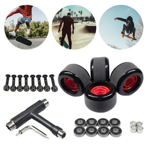 4 Pieces Fast Skateboard Bearings Wheel, DIY Tool Accessory Kit Perfect fit for Skate Board Stunt Scooters and Inline Skates, Stable and